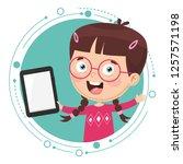 vector illustration of kid...   Shutterstock .eps vector #1257571198