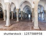 sixty dome mosque  sha  gombuj... | Shutterstock . vector #1257588958