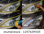 Big headlight cleaning with...