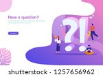faq and q a vector ilustration...