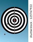 target vector | Shutterstock .eps vector #125767922
