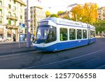 zurich  switzerland   oct 13 ... | Shutterstock . vector #1257706558