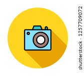 camera   gadget   photography   | Shutterstock .eps vector #1257709072