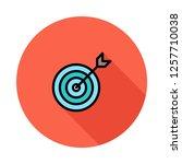 dartboard   goal  success  | Shutterstock .eps vector #1257710038