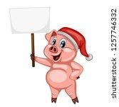 vector illustration of a happy... | Shutterstock .eps vector #1257746332
