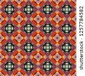 vector element  arabesque for... | Shutterstock .eps vector #1257784582