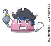 pirate wicker basket on a... | Shutterstock .eps vector #1257804598