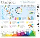 detail infographic vector... | Shutterstock .eps vector #125781188