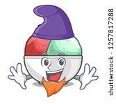 elf sorbet ice cream in cup...   Shutterstock .eps vector #1257817288