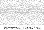 vector hexagonal seamless... | Shutterstock .eps vector #1257877762