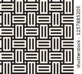 vector seamless pattern. modern ...   Shutterstock .eps vector #1257885205