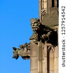 Gargoyles On The Exterior Of...