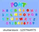 Cute Font For Decoration Set...