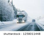 rovaniemi  finland   march 7 ... | Shutterstock . vector #1258011448
