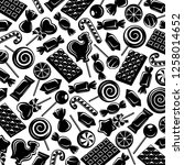 candies background. vector | Shutterstock .eps vector #1258014652