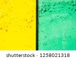 bright yellow green colored...   Shutterstock . vector #1258021318