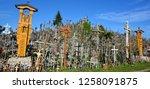 siauliai  lithuania september... | Shutterstock . vector #1258091875