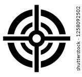 target board glyph icon | Shutterstock .eps vector #1258092502