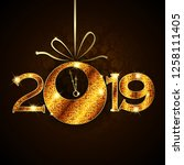 Abstract Of Happy New Year 2019....