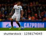 ruben vezo of valencia during... | Shutterstock . vector #1258174045