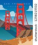 San Francisco Modern Vector...