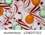 candy cane  spearmint ... | Shutterstock . vector #1258257322