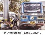 december 15 2018 kanchanaburi...   Shutterstock . vector #1258268242