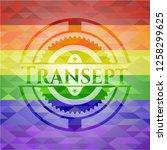 transept emblem on mosaic... | Shutterstock .eps vector #1258299625