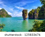 phuket james bond island phang... | Shutterstock . vector #125833676