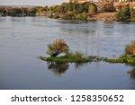 nile river near aswan  egypt   Shutterstock . vector #1258350652