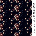 abstract geometry... | Shutterstock . vector #1258363558