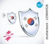 i love korea flag illustration  ...