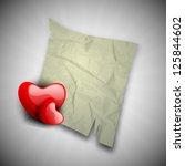 happy valentine's day... | Shutterstock .eps vector #125844602