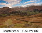 helm crag is a fell in the... | Shutterstock . vector #1258499182