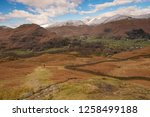 helm crag is a fell in the... | Shutterstock . vector #1258499188
