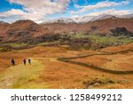 helm crag is a fell in the... | Shutterstock . vector #1258499212