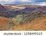 helm crag is a fell in the... | Shutterstock . vector #1258499215