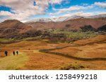 helm crag is a fell in the... | Shutterstock . vector #1258499218