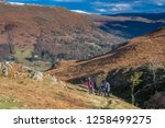 helm crag is a fell in the... | Shutterstock . vector #1258499275