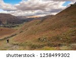 helm crag is a fell in the... | Shutterstock . vector #1258499302