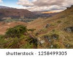helm crag is a fell in the... | Shutterstock . vector #1258499305