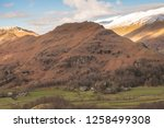 helm crag is a fell in the... | Shutterstock . vector #1258499308