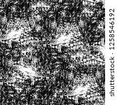vector grunge overlay texture.... | Shutterstock .eps vector #1258546192