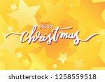 merry christmas illustration...   Shutterstock .eps vector #1258559518