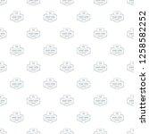 smart house pattern vector... | Shutterstock .eps vector #1258582252