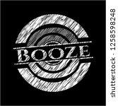booze chalk emblem written on a ...   Shutterstock .eps vector #1258598248