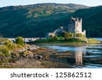 eilean donan castle  scotland | Shutterstock . vector #125862512