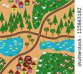 baby seamless pattern. raster... | Shutterstock . vector #125865182
