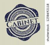 blue cabinet rubber grunge...   Shutterstock .eps vector #1258692118