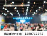 abstract blurred photo of... | Shutterstock . vector #1258711342